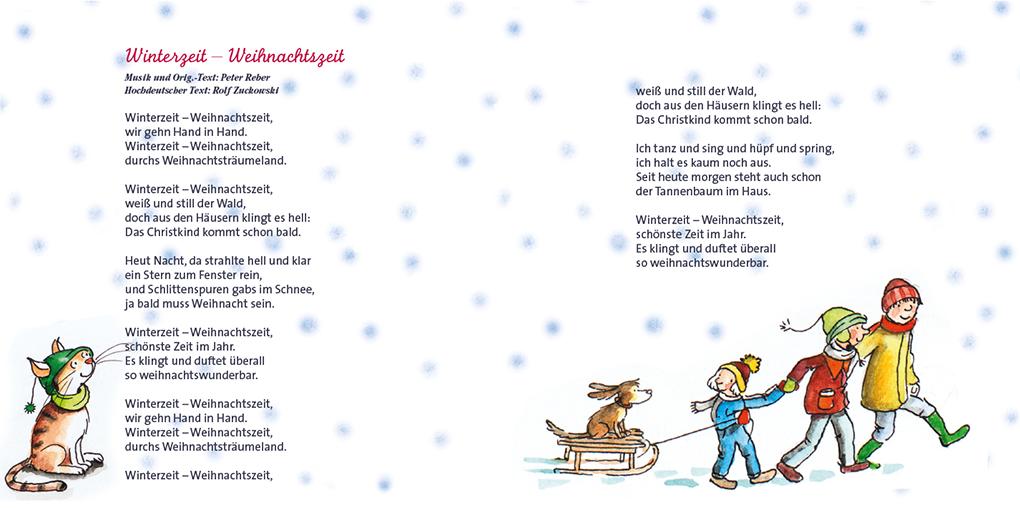 Rolf Zuckowski Weihnachtslieder Texte.Cd Cover Sabine Kohncke